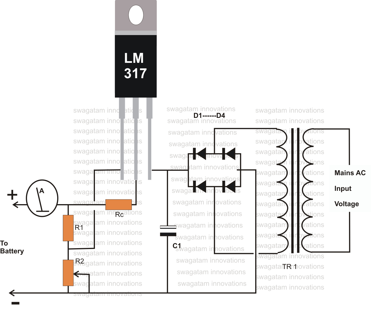 12 Volt Battery Charger Diagram | Battery | Pinterest | Circuit - Usb Charger Wiring 12V Diagram