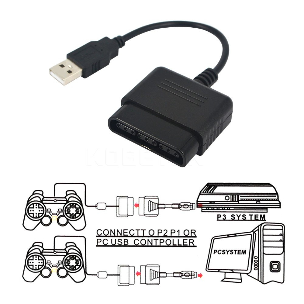 2016 New Arrived Usb Adapter Converter Cable For Game Controller For - Ps2 Controller To Ps3 Usb Wiring Diagram Without Adapter