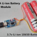 3.7V Li Ion 18650 Battery Charger Module   Tp4056 / Micro Usb   Tp4056 Usb Charger Wiring Diagram