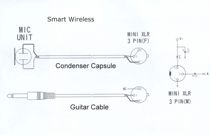 Wiring Color Diagram On A Usb Microphone