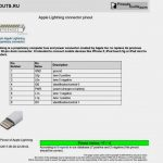 30 Pin Ipod Cable To Usb Wire Diagram | Wiring Diagram   6 Prong Usb Charger Port Wiring Diagram