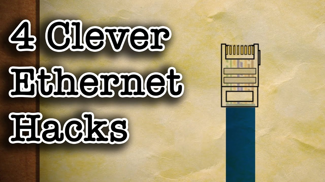 4 Clever Ethernet Cable Hacks - Youtube - Usb To Rj45 Cable Wiring Diagram