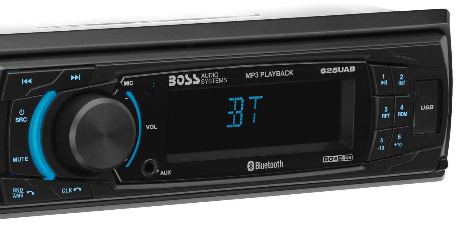 625Uab - Boss Audio Systems - Boss Audio 616Uab Single Din, Bluetooth, Mp3/usb/sd Am/fm Car Stereo Wiring Diagram