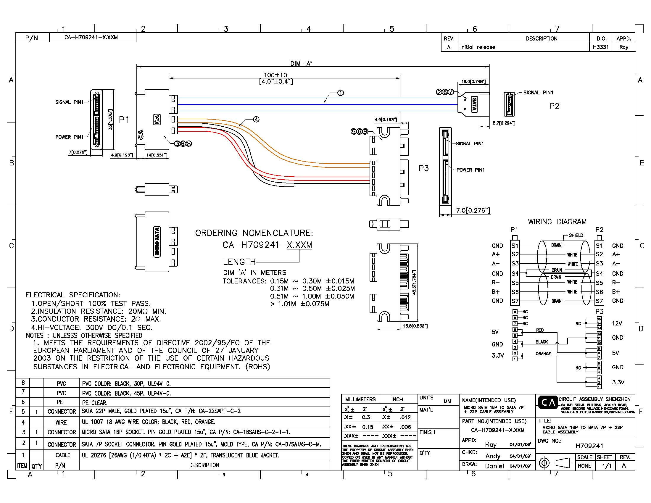 7 Pin Usb Wiring Schematic | Wiring Diagram - Sata Data Cable To Usb Wiring Diagram