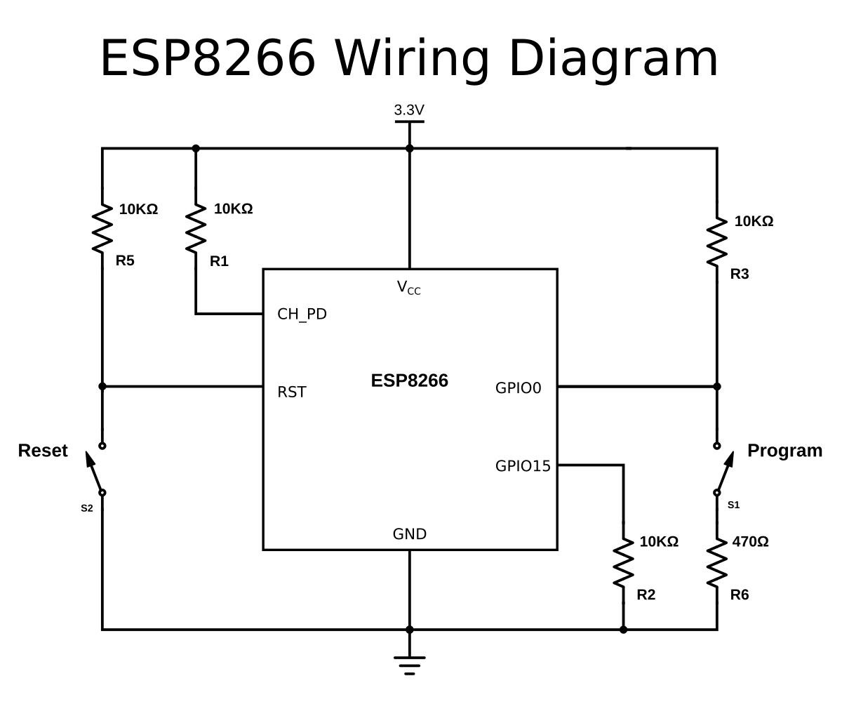 A Beginner's Guide To The Esp8266 - Usb Wiring Diagram 5V