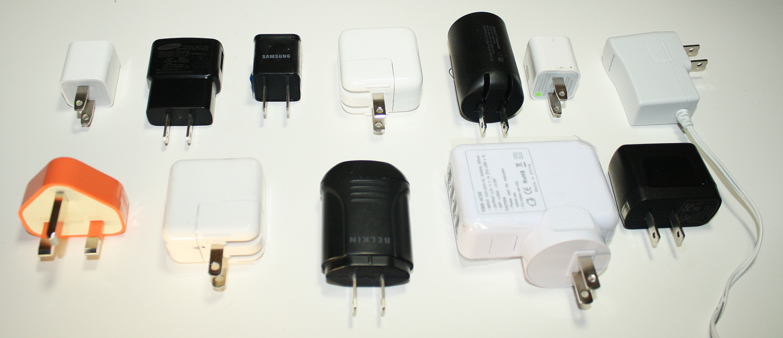 A Dozen Usb Chargers In The Lab: Apple Is Very Good, But Not Quite - Wall Wart Mini Usb Wiring Diagram