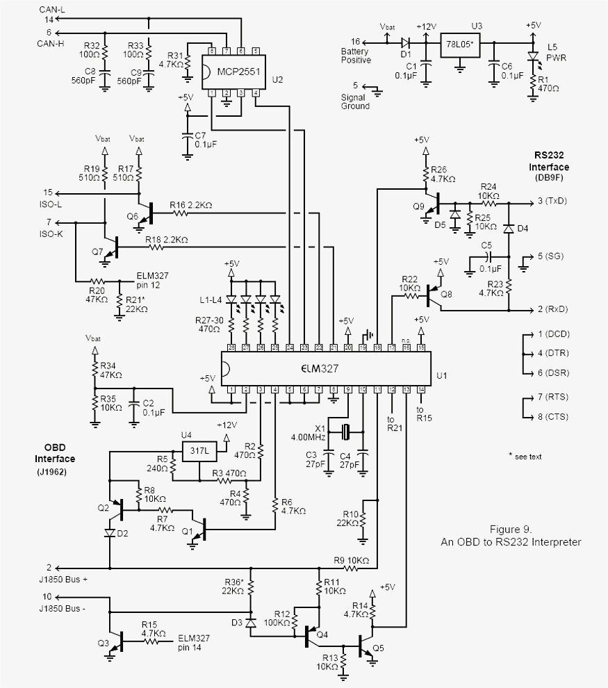Aldl Wiring Diagram - Wiring Diagrams Hubs - Obd Ii Style Data Link Connector To Usb Wiring Diagram