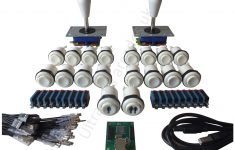 Arcade Joystick 2 Player Control Kit Set – 16 White Concave Buttons – Xin Mo Usb Wiring Diagram