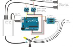 Arduino Controlled Phone Dock With Lamps: 14 Steps (With Pictures) – Panel Mount Usb Wiring Diagram