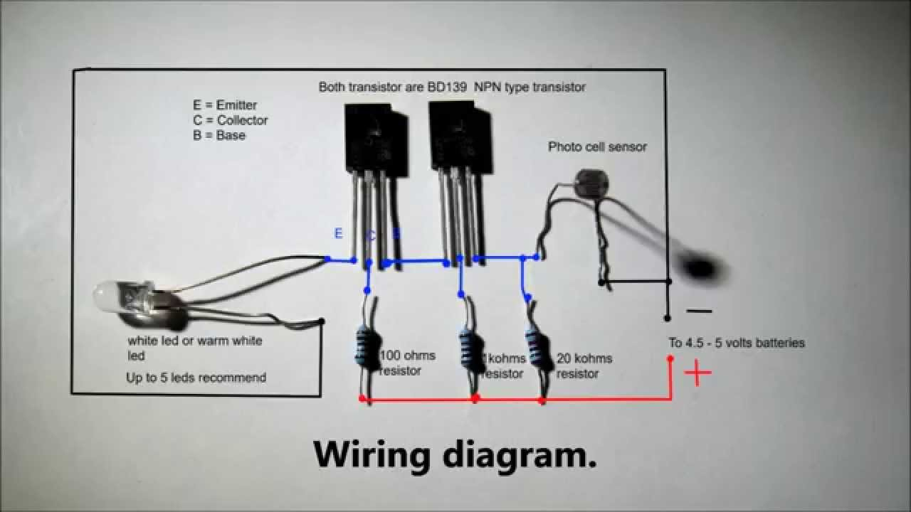 Automatic Nightlight With Full Wiring Diagram. - Youtube - Usb Circuit Wiring Diagram