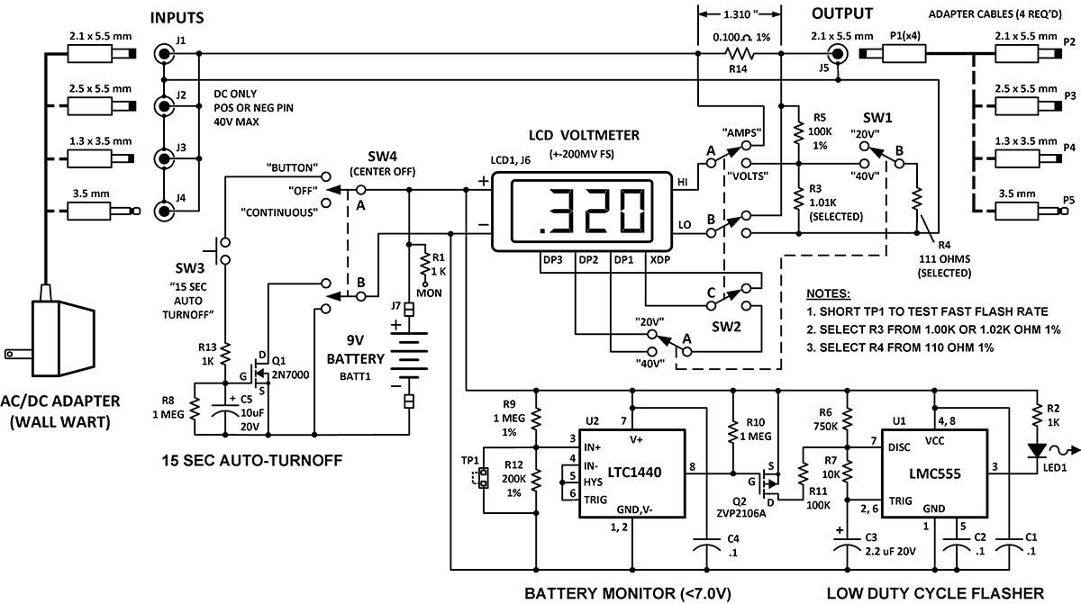Build A Wall Wart Power Monitor | Nuts & Volts Magazine - Wall Wart Mini Usb Wiring Diagram