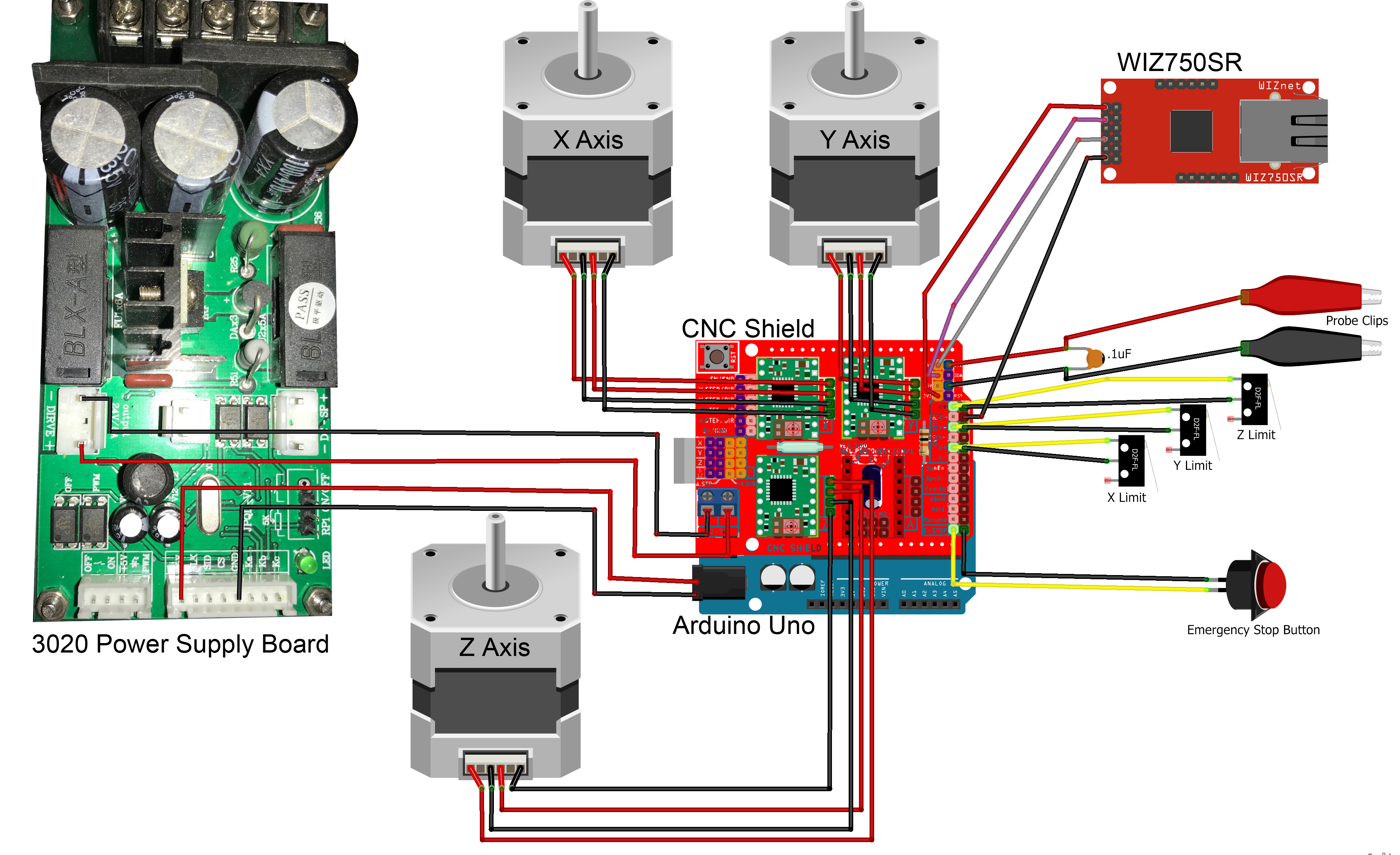 Changzhou Usb Cnc Wiring Diagram | Manual E-Books - 4 Axis Usb Cnc Controller Wiring Diagram