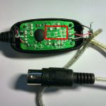 Cheap Usb Midi Cable: Some Self Assembly May Be Required – Arvydas.co.uk   Optically Isolated Usb Hub Wiring Diagram