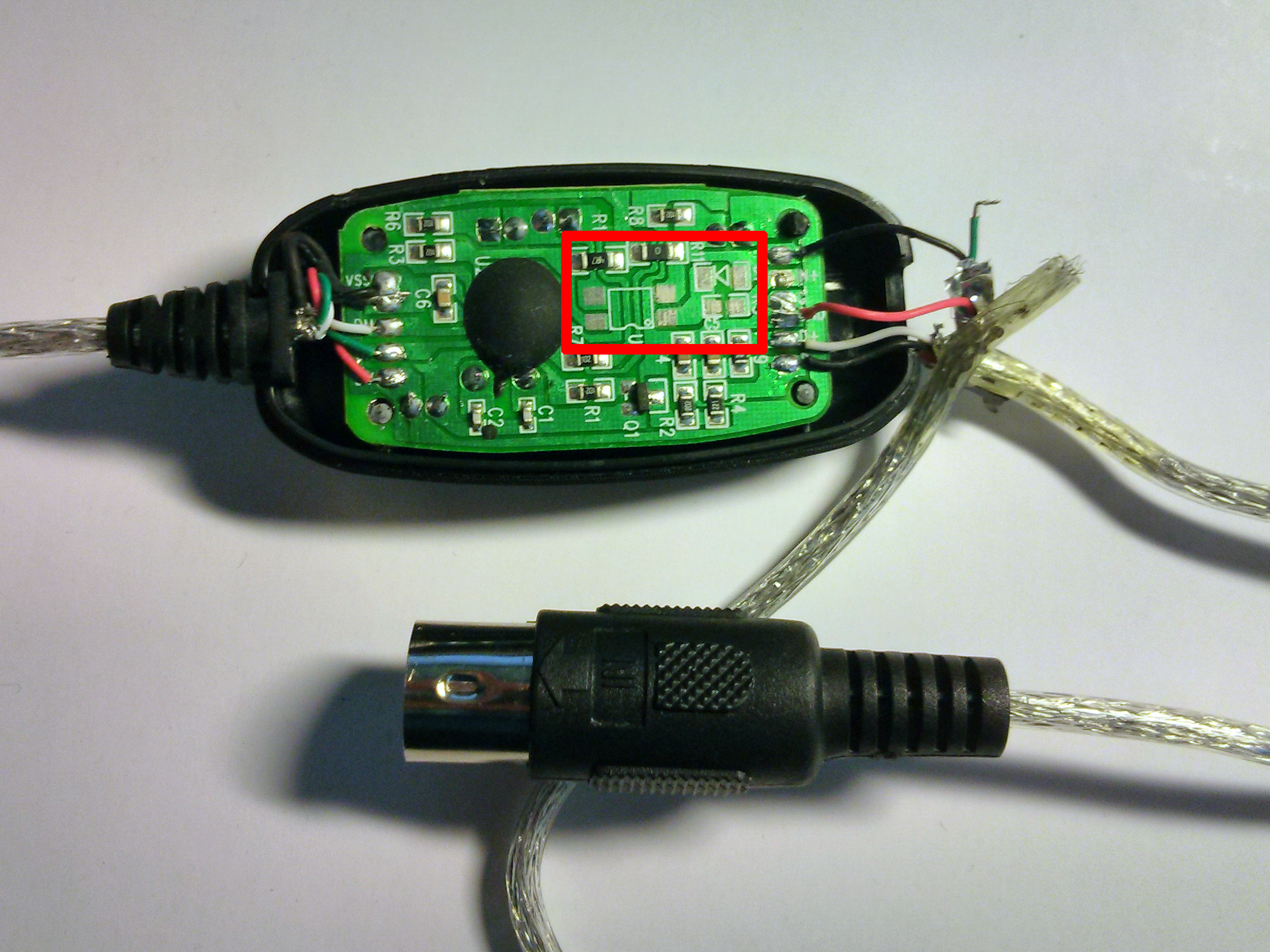 Cheap Usb Midi Cable: Some Self Assembly May Be Required – Arvydas.co.uk - Usb To Midi Cable Wiring Diagram