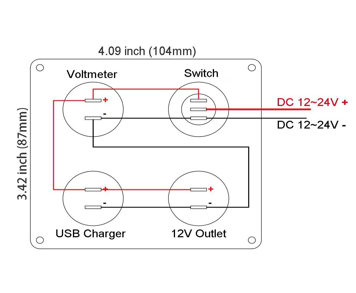 Cllena Dual Usb Socket Charger Wiring Diagram - Cllena Dual Usb Wiring Diagram