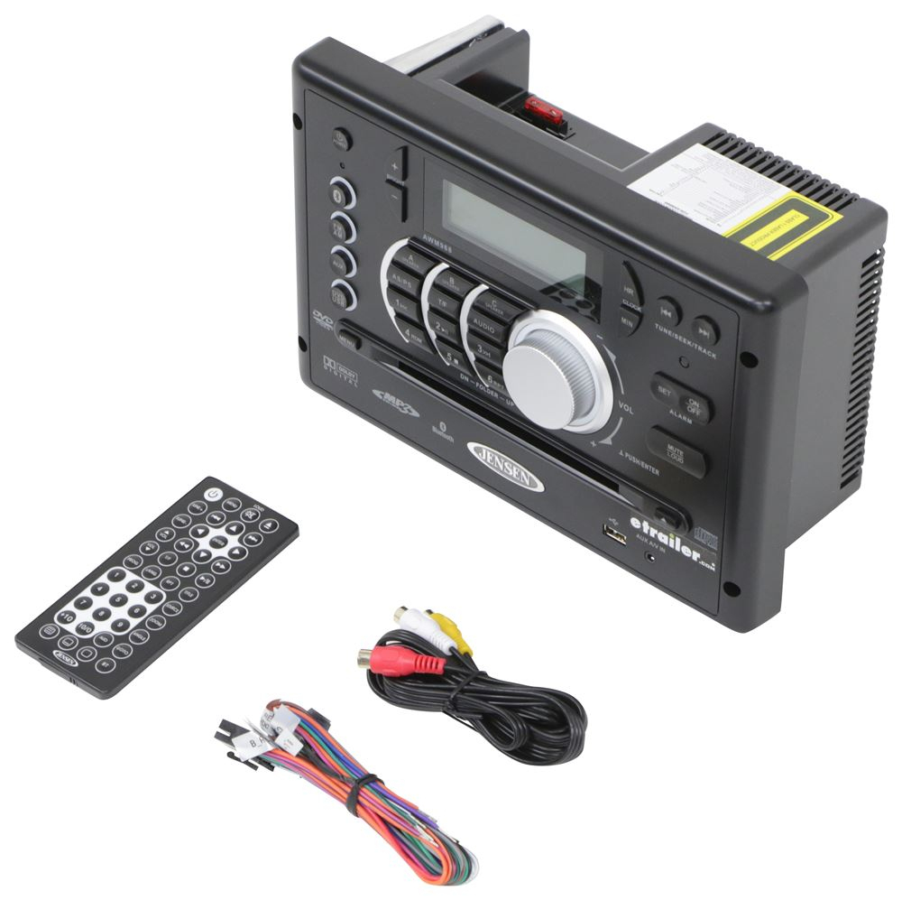 Compare Vs Irv Digital In-Wall | Etrailer - Jensen Fm/am Radio Stereo Dvd Usb Awm965 Aux Rv Camper Motorhome Trailer Wiring Diagram