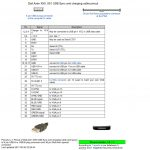 Dell Axim X50, X51 Usb Sync And Charging Cable Pinout Diagram - Dell 9 Pin Usb Wiring Diagram