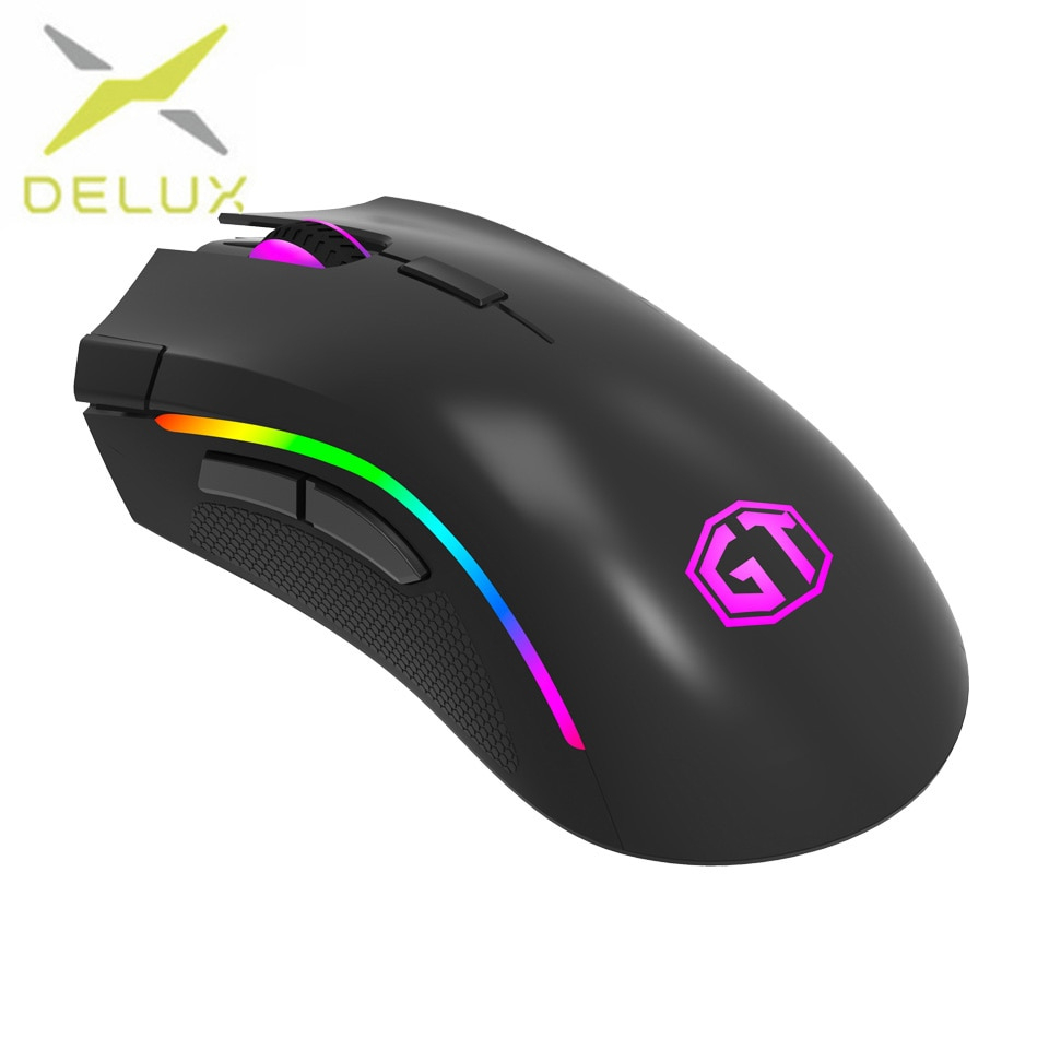 Delux M625 Gaming Mouse Usb Wired Mouse 7 Buttons 12000Dpi 12000Fps - Onn Corded Mouse Usb Wiring Diagram