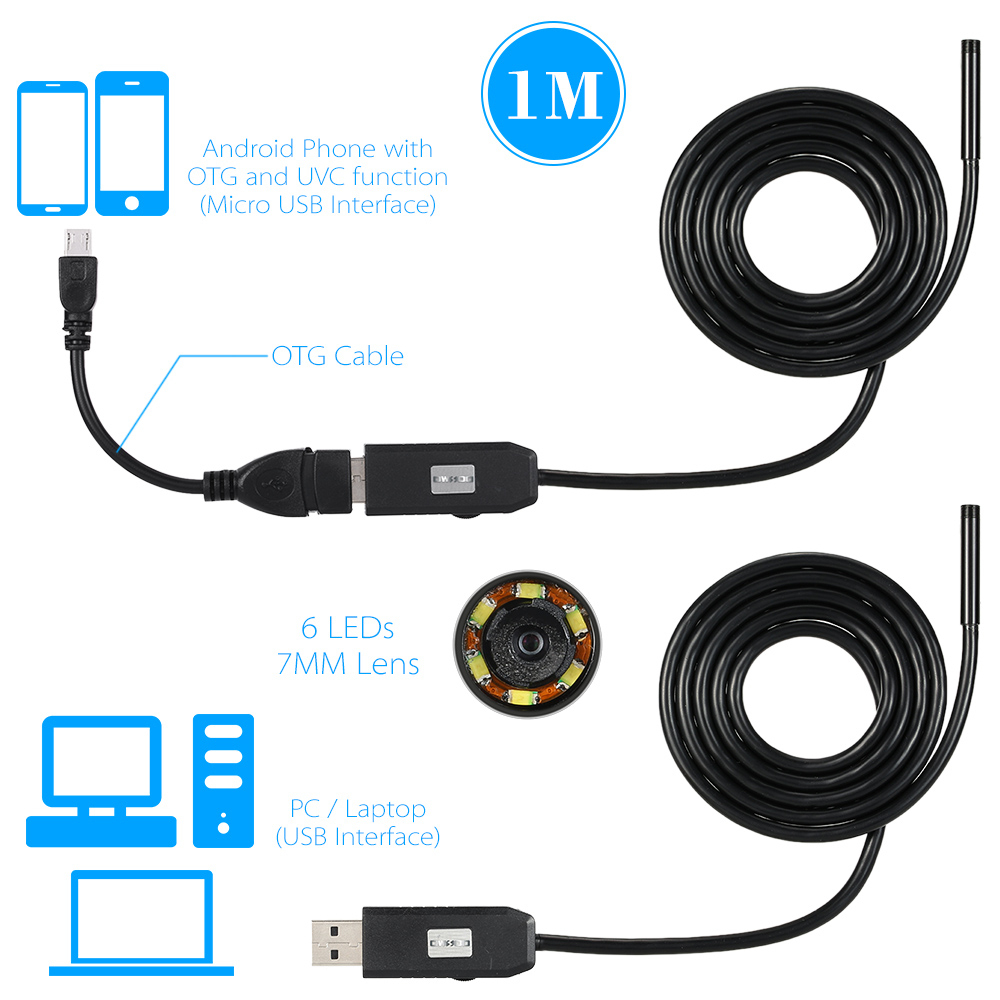 Detail Feedback Questions About 1/2/3/5M Usb Endoscope Camera 7Mm - Usb Endoscope Wiring Diagram