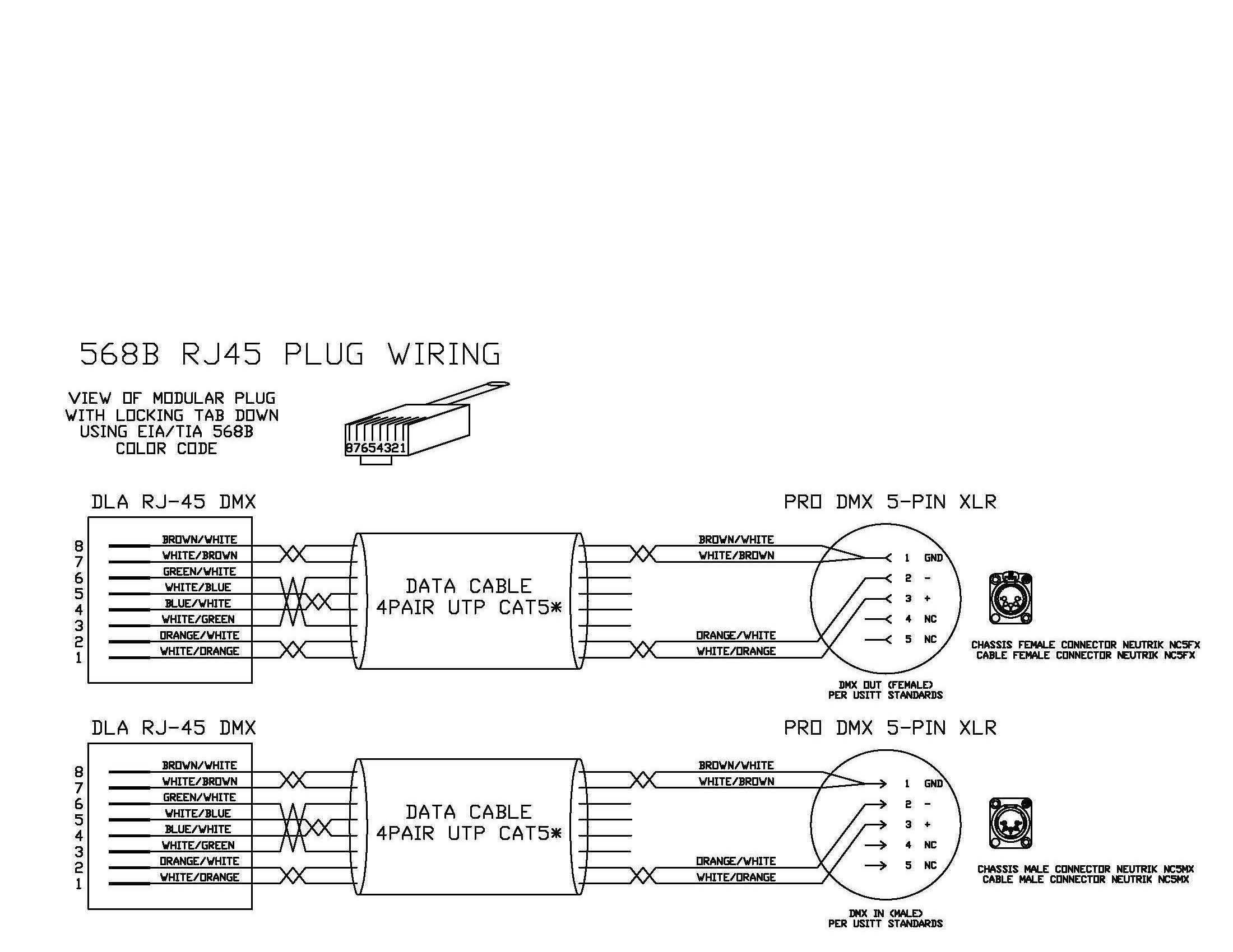 Dmx To Rj45 Wiring Diagram - Wiring Data Diagram - Usb To Dmx Wiring Diagram