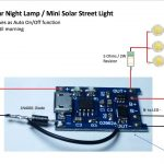 Do It Yourself Solar Night Light Using Tp4056 Board   Youtube   Tp4056 Usb Charger Wiring Diagram
