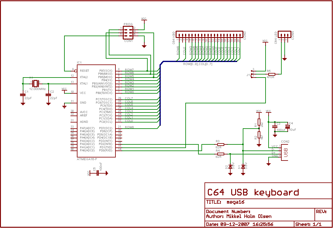 Computor Keyboard Wiring Diagram For Usb
