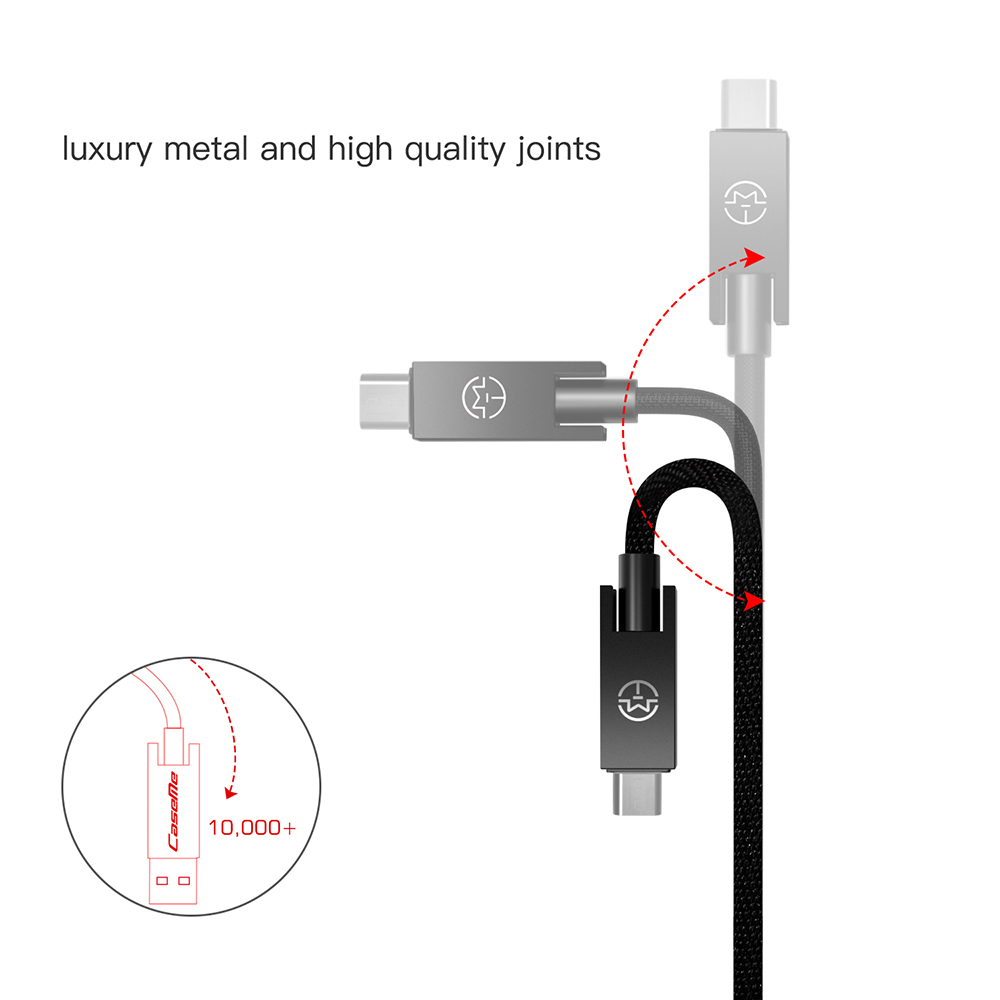 Dropshipping For Caseme Micro Usb Cable Android Nylon Braided - Htc Micro Usb Wiring Diagram