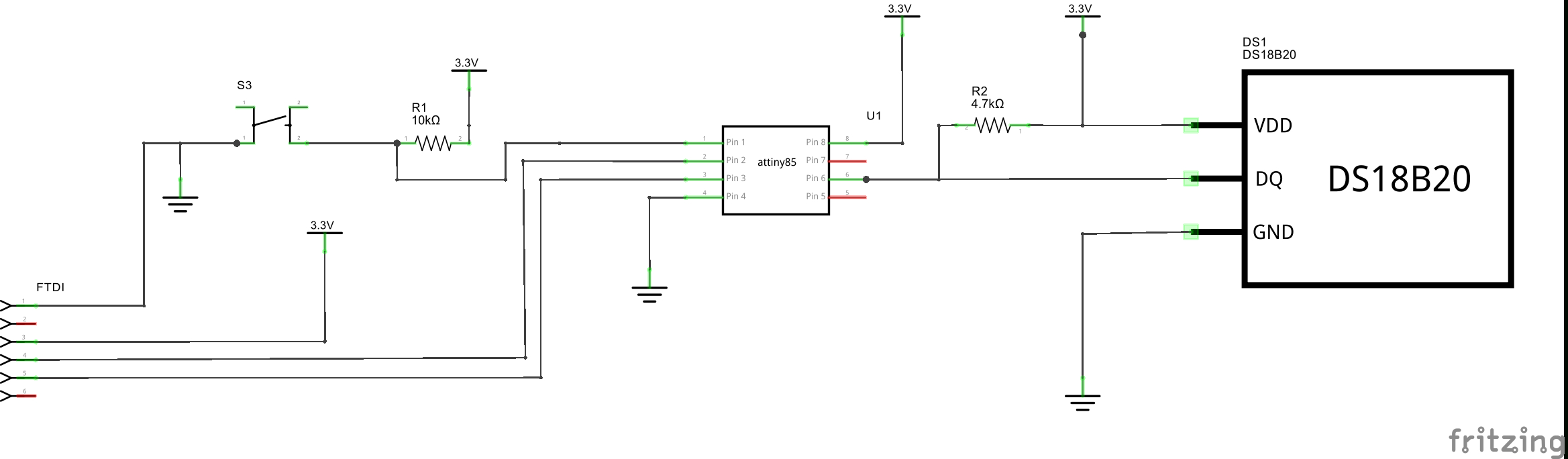 Easy Serial On The Attiny - Hackster.io - Db9 To Usb Wiring Diagram