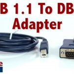 Easy To Use Usb 1.1 To Db25 Adapter   Connect Serial Devices To Your   Db25 To Usb Wiring Diagram