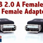 Easy To Use Usb 2.0 A Female To A Female   Quickly Change Connection   Usb To Female Usb Cable Wiring Diagram