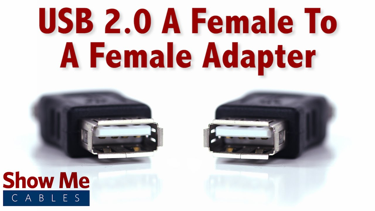 Easy To Use Usb 2.0 A Female To A Female - Quickly Change Connection - Usb To Female Usb Cable Wiring Diagram