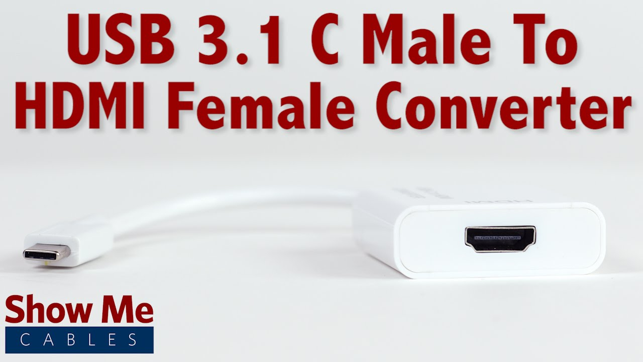 Easy To Use Usb 3.1 Type C To Hdmi Converter #23-226-002 - Youtube - Wiring Diagram For Usb C
