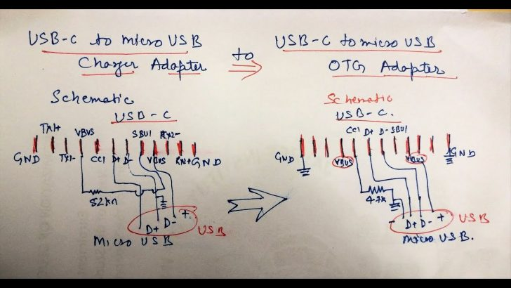 Usb C Cable To Micro Usb Wiring Diagram