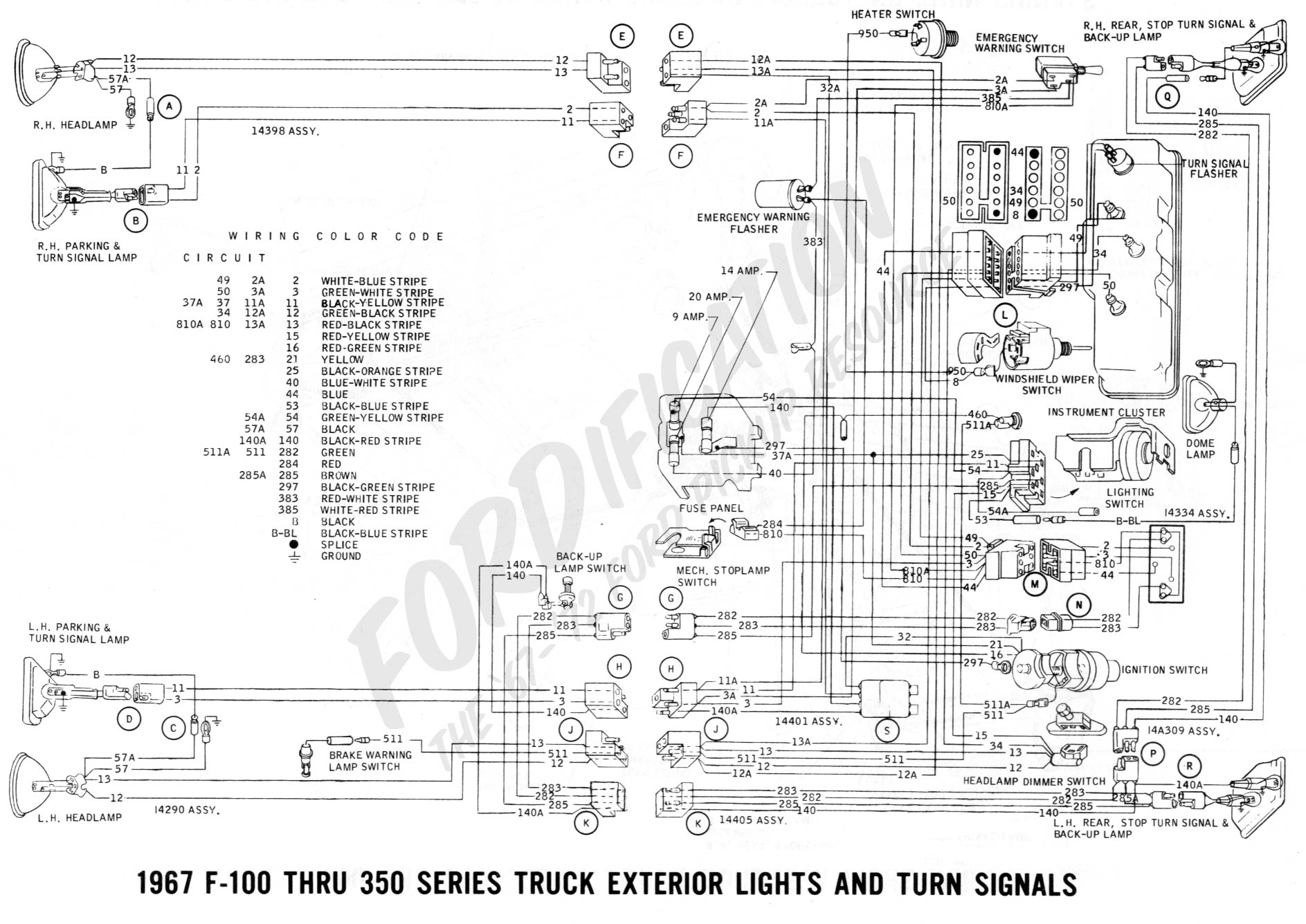 Ford 1967 Truck Wiring Diagram | Wiring Diagram - 2016 F150 Usb Wiring Diagram