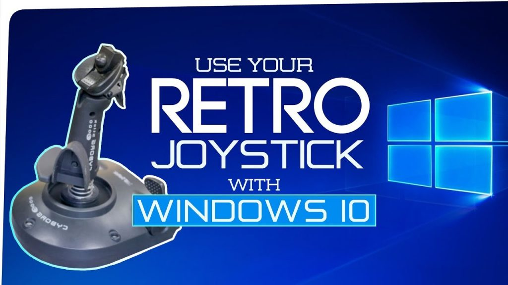 Get Your Old Gameport Joystick Working With Windows 10