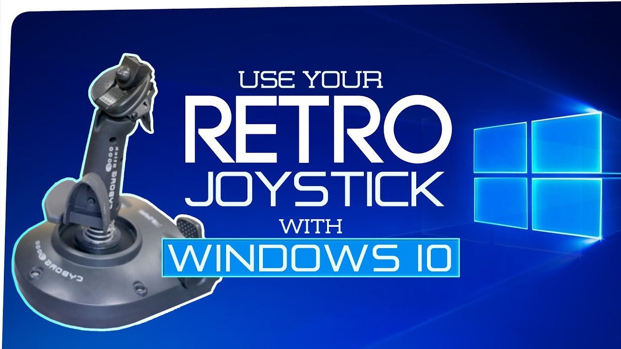 Get Your Old Gameport Joystick Working With Windows 10 | Install - Wingman Interceptor 15 Pin To Usb Wiring Diagram