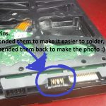 Hard Drive   Soldering A Sata Data Cable To A Hdd   Super User   Schematic Wiring Diagram For A Usb To Hdd Backup Device