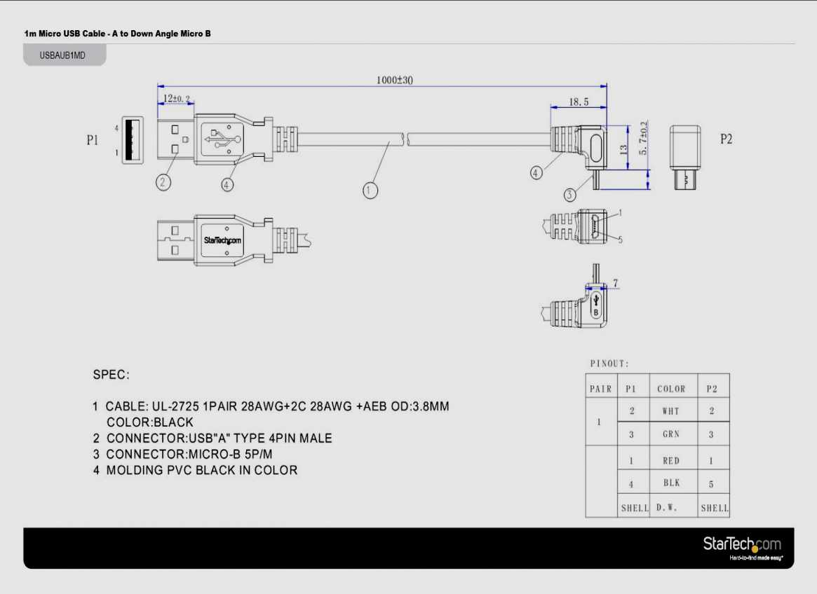 Hdmi Cable Wire Diagram | Best Wiring Library - Micro Usb To Hdmi Cable Wiring Diagram