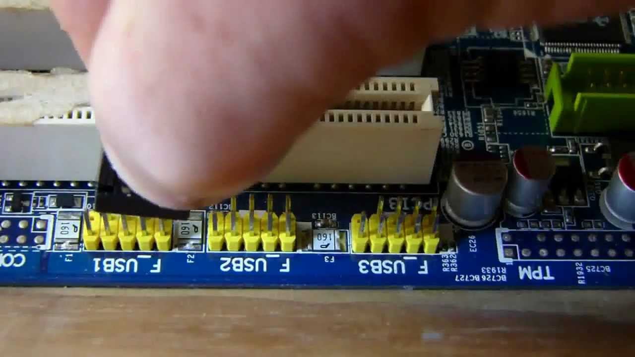 How To Connect Front Panel Connectors To The Motherboard - Youtube - Front Panel Usb Wiring Diagram
