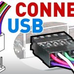 How To Connect The Usb Front Panel To Your Motherboard   Youtube   Usb Plug Wire Motherboard Wiring Diagram