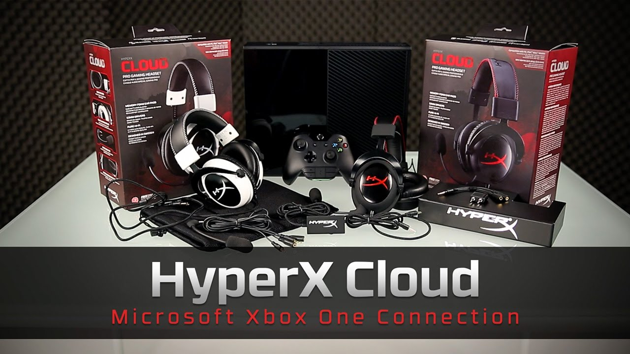 How To Connect Your Gaming Headset To An Xbox One - Hyperx Cloud - 3.5 Mm Jack To Usb Wiring Diagram