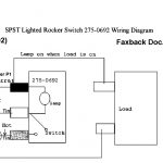 How To Hook Up An Led Lit Rocker Switch With 115V Ac Power W/o   2 Prong Usb Car Toggle Switch Wiring Diagram
