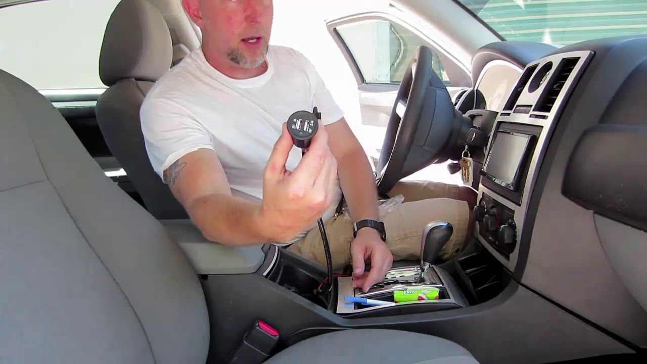 How To Install A Usb Charger 12V Outlet In Your Car - Youtube - Cllena Dual Usb Socket Charger Wiring Diagram
