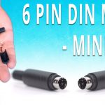 How To Install The 6 Pin Mini Din Male Solder Connector   Youtube   Wiring Diagram Change 6 Pin Din Plug To Usb