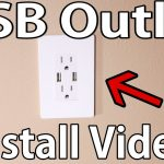 How To Install Usb Wall Outlet   Youtube   Usb Receptacle Intertek Wiring Diagram