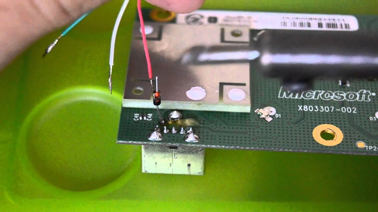 How To Make A Homemade Xbox 360 Controller Wireless Receiver For Pc - Xbox 360 Wifi Usb Wiring Diagram