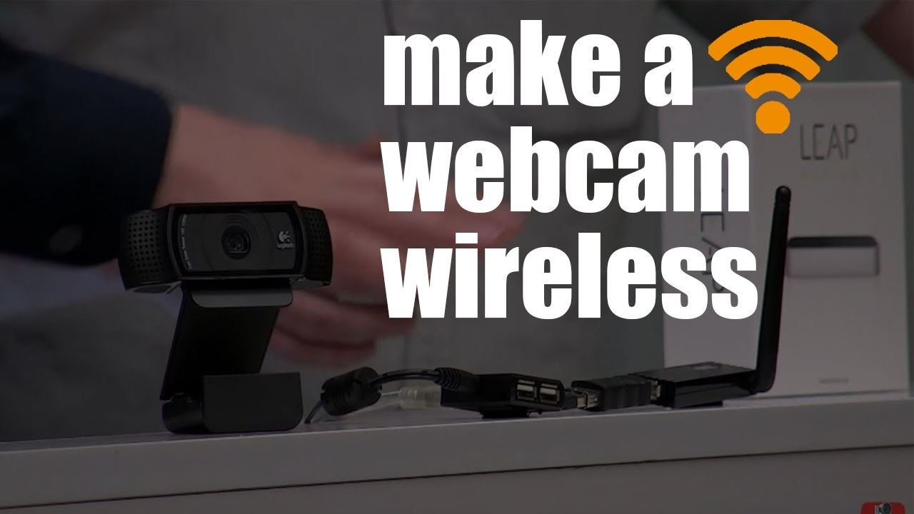 How To Make A Logitech Webcam Wireless - Youtube - Logitech Webcam Usb Cable Wiring Diagram
