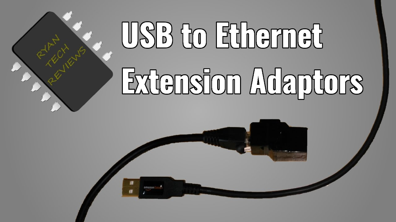 Usb A Female To Ethernet Rj45 Male Adapter Connector border=