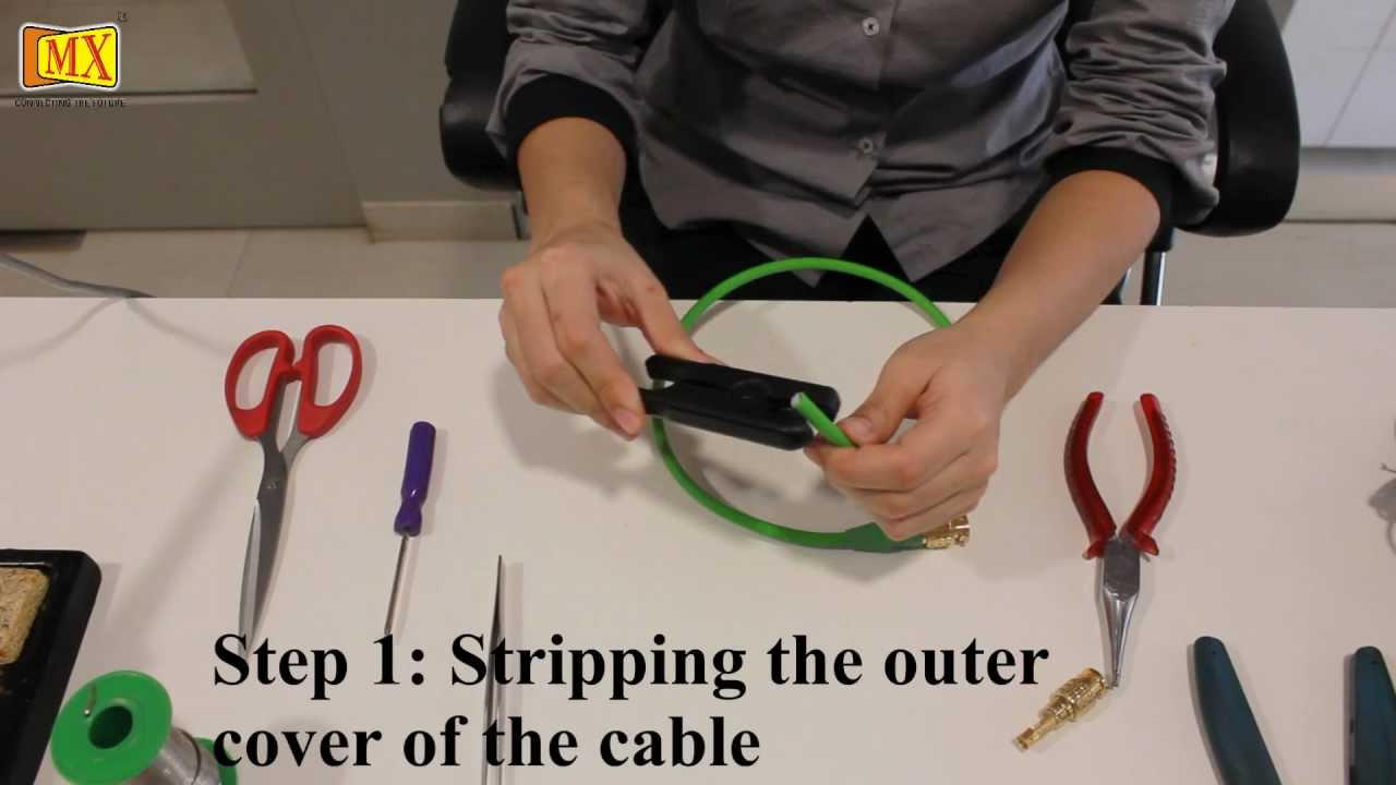 How To Make Bnc Cable - Youtube - Bnc To Usb Wiring Diagram