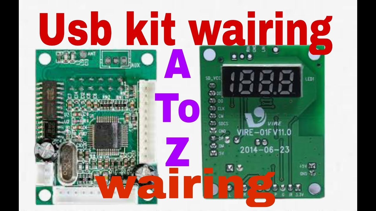 How To Make Usb Kit Wairing || Simpel Make Usb Sd Mp3 Player Kit - Usb Mp3 Player Wiring Diagram